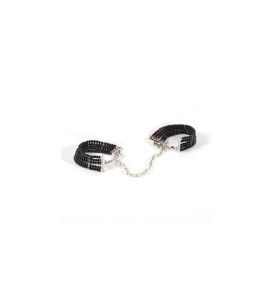 Bijoux Plaisir Nacre Black Handcuffs